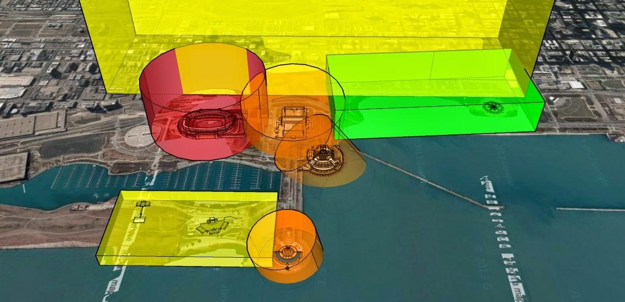 L'article sur le blog de Mitchell Sipus propose un zonage invisible et une régulation automatique des drones. Image reproduite avec l'aimable autorisation de Mitchell Sipus
