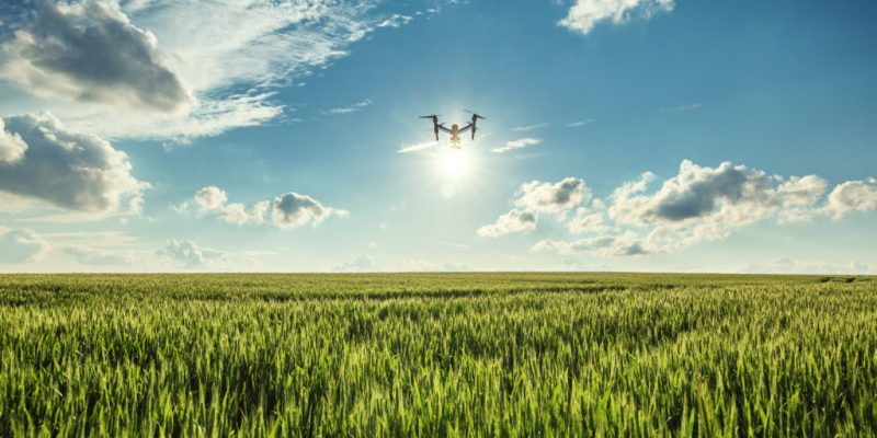 Utilisation du drone en agriculture