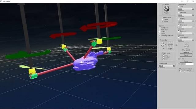 exemple de conception de drone personnalisé CSAIL MIT