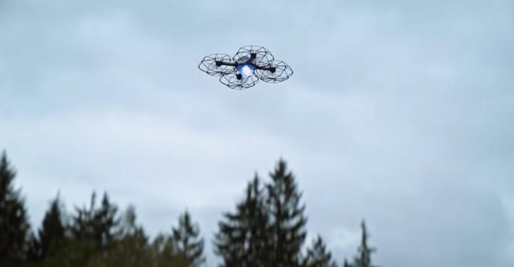 Drone d'étoile filante d'Intel